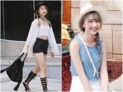 """Thời trang - Quỳnh Anh Shyn: Từ """"tắc kè hoa"""" đến hotgirl siêu chất"""