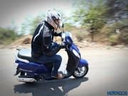 Thế giới xe - Soi xét Suzuki Access 125 mới, giá rẻ 18 triệu đồng