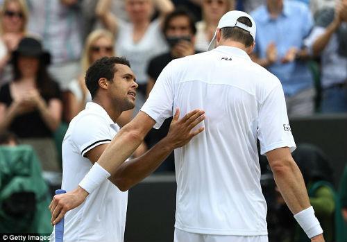 Wimbledon ngày 7: Tsonga, Isner và trận đấu dài nhất từ đầu giải