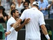 Thể thao - Wimbledon ngày 7: Tsonga, Isner và trận đấu dài nhất giải