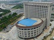 Thế giới - TQ: Tòa nhà trường học giống hệt toilet khổng lồ