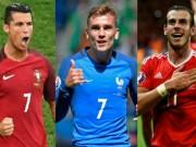 """Bóng đá - Vua phá lưới Euro: Ronaldo đấu """"tam tấu"""" chủ nhà"""