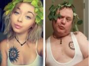 Bạn trẻ - Cuộc sống - Gặp ông bố Mỹ gây sốt vì bắt chước ảnh của con gái