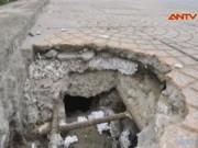 Tin tức trong ngày - Hà Nội điều tra vụ bê tông xốp trên cầu vượt