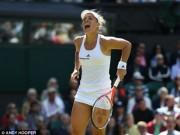 Thể thao - Halep – Kerber: Loạt tie-break tệ hại (Tứ kết Wimbledon)