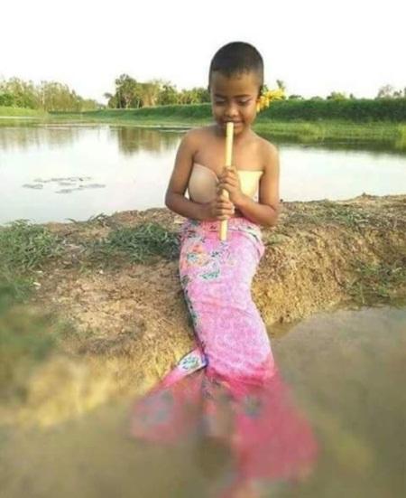 Cậu bé Thái Lan nổi tiếng vì tài tự chế thời trang độc - 3