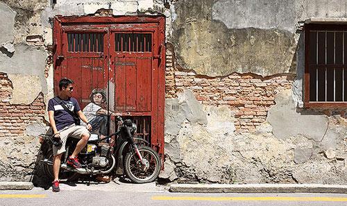 Penang, xứ sở diệu kỳ của nghệ thuật đường phố - 2