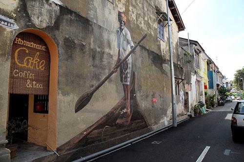 Penang, xứ sở diệu kỳ của nghệ thuật đường phố - 4