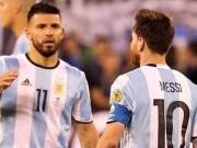Bóng đá - Tin HOT sáng 6/7: Aguero theo Messi bỏ ĐT Argentina