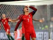 Bóng đá - Ronaldo mới ghi 2 bàn ở Euro: Thiếu đối tác, mất tự tin