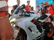 Thế giới xe - Ducati Supersport mới rò rỉ hình ảnh làm phái mạnh tò mò