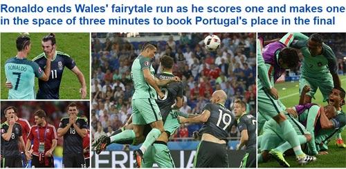 """Ronaldo """"bung lụa"""", báo chí châu Âu cạn lời khen"""