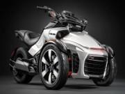 Thế giới xe - 2016 Can-Am Spyder F3-S: Quái xế ba bánh ngoài hành tinh