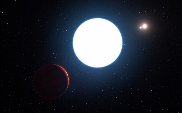 Phát hiện hành tinh cực hiếm có 3 mặt trời - 2
