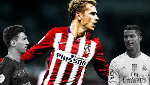 Griezmann: Đừng ví với CR7, hãy so sánh với Messi