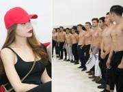 Ca nhạc - MTV - Dàn trai đẹp cởi áo để Hà Hồ chọn làm diễn viên