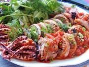 Ẩm thực - Mực nhồi thịt sốt cà chua cho bữa tối ngon tuyệt