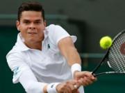 """Thể thao - """"Máy giao bóng"""" Raonic khiến Federer méo mặt"""