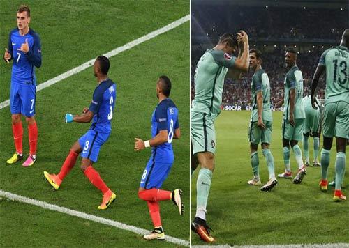 Đọ đội hình Pháp – Bồ Đào Nha: Chủ nhà thắng thế