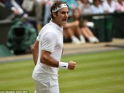 Thể thao - Federer tuổi 35 và những cú đánh mẫu mực trước Raonic