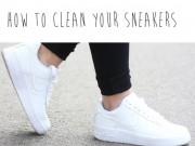 """Thời trang - Chiêu """"độc"""" làm giày cũ trở nên trắng tinh dễ và nhanh"""