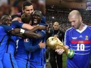 Bóng đá - Đội hình Pháp 2016 có mạnh hơn Pháp 1998?