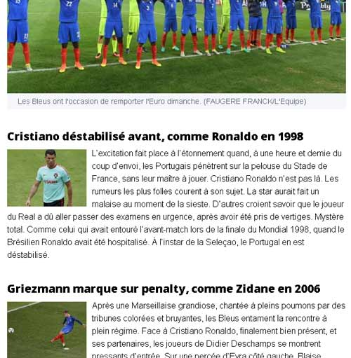"""Báo Pháp mong CR7 """"bị động kinh"""" như Ronaldo 1998"""