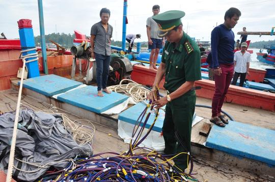 Tàu Trung Quốc là thủ phạm đâm chìm tàu cá Quảng Ngãi