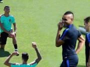 Bóng đá - Góc ảnh: Bồ Đào Nha và Pháp ngập tiếng cười trước giờ G