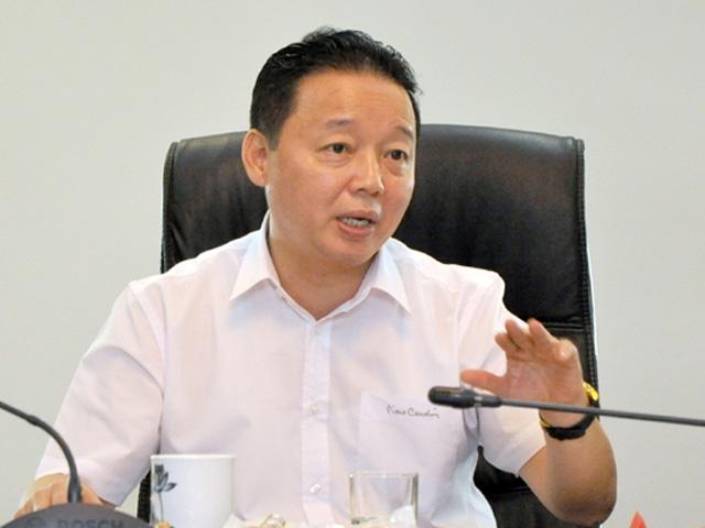 Bộ trưởng Trần Hồng Hà: Formosa tự thay đổi công nghệ