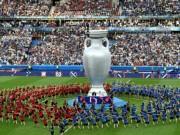 Bóng đá - Bế mạc Euro: Lãng mạn, cuồng nhiệt như nụ hôn Pháp