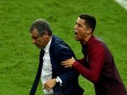 """Bóng đá - Ronaldo vào sân """"chỉ đạo"""", Bồ Đào Nha vỡ òa ăn mừng Cup"""
