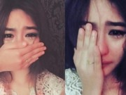 Bạn trẻ - Cuộc sống - Gương mặt gây sốt của cô gái vừa khóc vừa che mặt