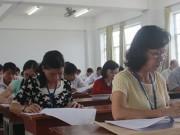 Giáo dục - du học - Thi tốt nghiệp THPT: Một số trường đã chấm xong môn trắc nghiệm
