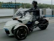 """Thế giới xe - """"Quái vật"""" 3 bánh Can-Am Spyder F3-S E Concept lộ diện"""