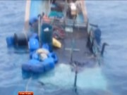 Video An ninh - Hai tàu TQ bao vây, đâm chìm tàu cá Quảng Ngãi
