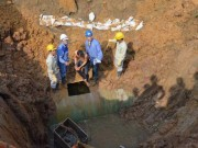 Tin tức trong ngày - Đường ống nước sông Đà gặp sự cố lần thứ 18