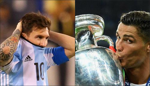 Ronaldo giờ đã vĩ đại hơn Messi? - 2
