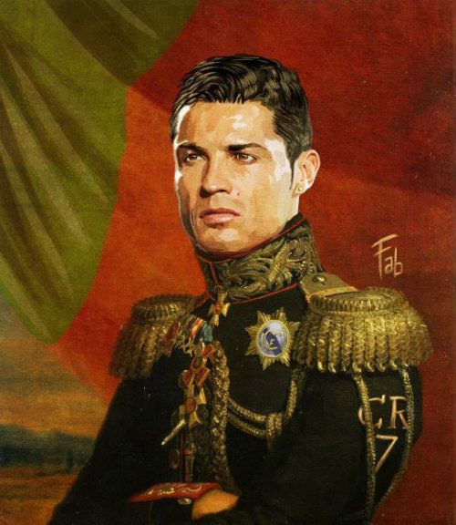 Ronaldo hóa đại tướng quân dũng mãnh sau Euro