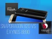 Thời trang Hi-tech - Cân đo hiệu suất chip Snapdragon 820 và Exynos 8890 trên Galaxy S7