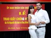 """Ca nhạc - MTV - Ảnh kết hôn """"bất thường"""" của chân dài Hà Anh gây ồn ào"""