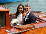 """Bóng đá - Sao MU bảnh bao trong hôn lễ với """"hoa khôi tennis"""""""