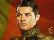 Bóng đá - Ronaldo hóa đại tướng quân dũng mãnh sau Euro