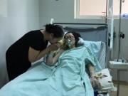 Tin tức trong ngày - Cảm động mẹ ung thư giai đoạn cuối mổ ngồi để cứu con