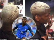 """Bóng đá - Mặc MU và """"siêu cò"""", Pogba tới Mỹ ăn chơi khoe tóc """"dị"""""""