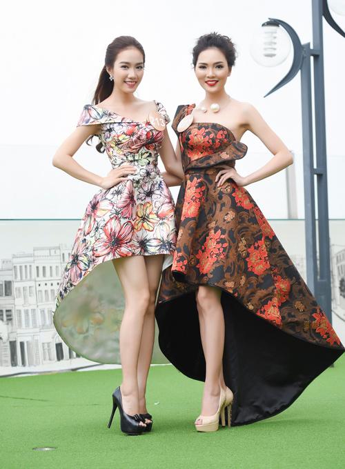 Chân dài cao 1m78 vượt trội ở Hoa hậu Bản sắc Việt - 9