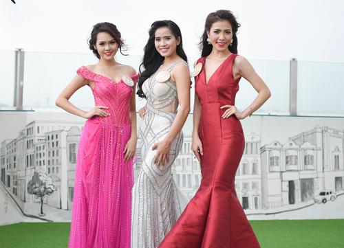 Chân dài cao 1m78 vượt trội ở Hoa hậu Bản sắc Việt - 8