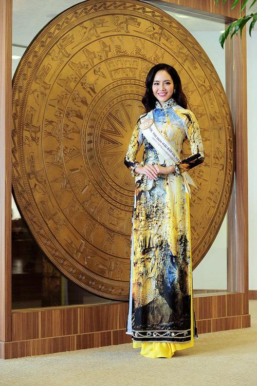 Chân dài cao 1m78 vượt trội ở Hoa hậu Bản sắc Việt - 10