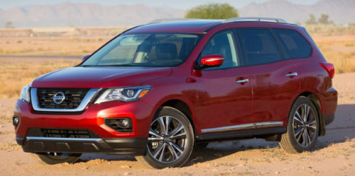 Nissan Pathfinder 2017 mạnh hơn, tiện lợi hơn