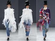 Thời trang - Viktor & Rolf biến denim thành thời trang cao cấp